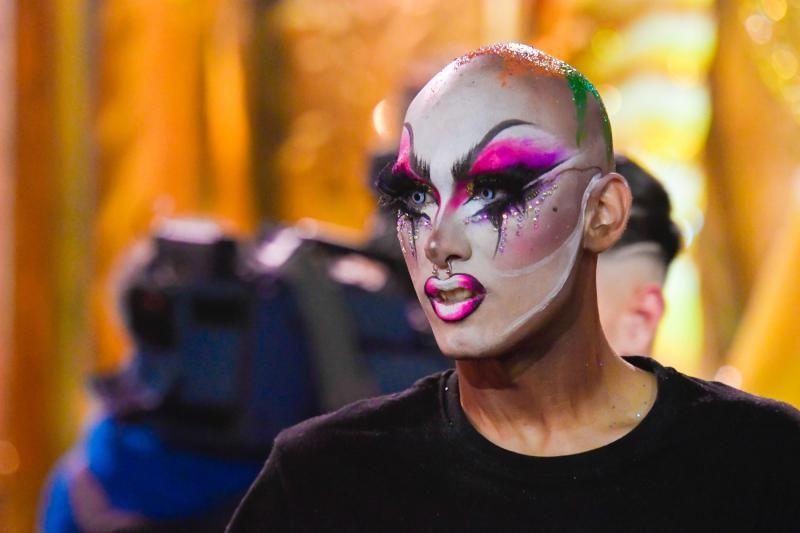 28-02-2020 LAS PALMAS DE GRAN CANARIA. Gala Drag Queen. Momentos previos a la gala    28/02/2020   Fotógrafo: Juan Carlos Castro