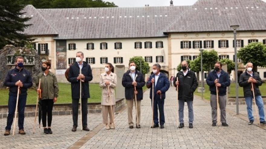 El Año Jacobeo arranca en Roncesvalles con la más alta representación institucional