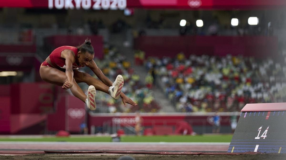 L'atleta Ana Peleteiro.