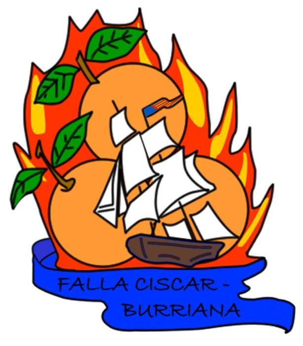 Císcar-Burriana, con un navío de línea en rcuerdo al capitán Gabriel Císcar.