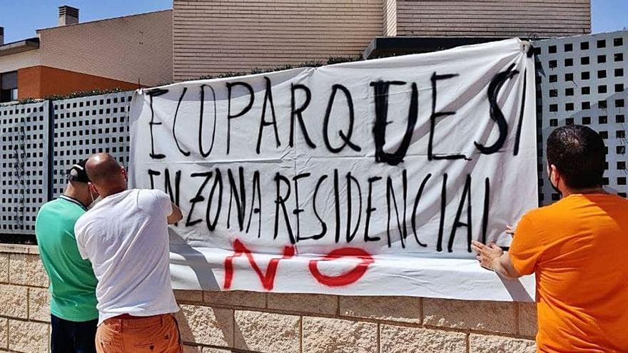 Satisfacción entre los vecinos por evitar la construcción del ecoparque  de Sant Joan junto a sus casas