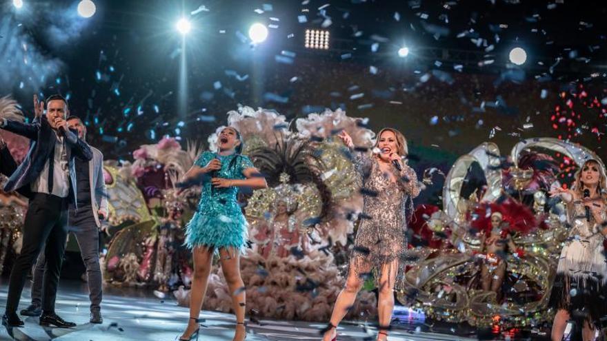 Santa Cruz presume de Carnaval en la gala televisiva