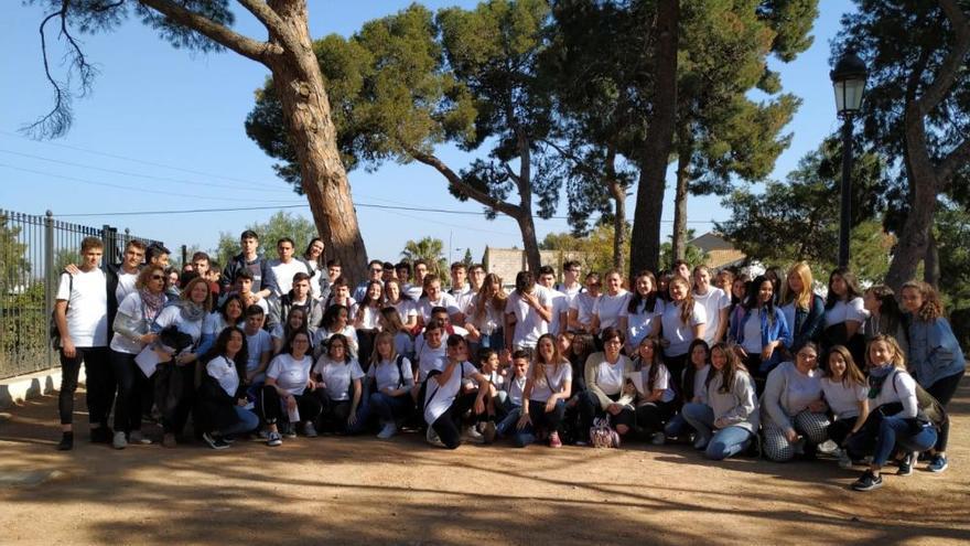 L'alumnat «pigmalió» de 12 instituts es reunix a Albal