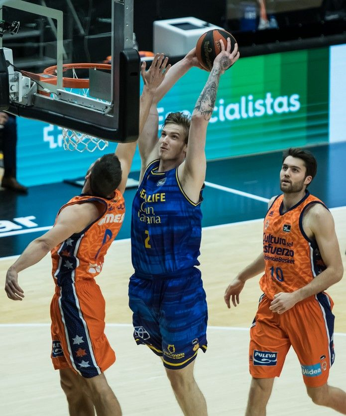 Liga Endesa: Valencia Basket - Herbalife Gran Canaria