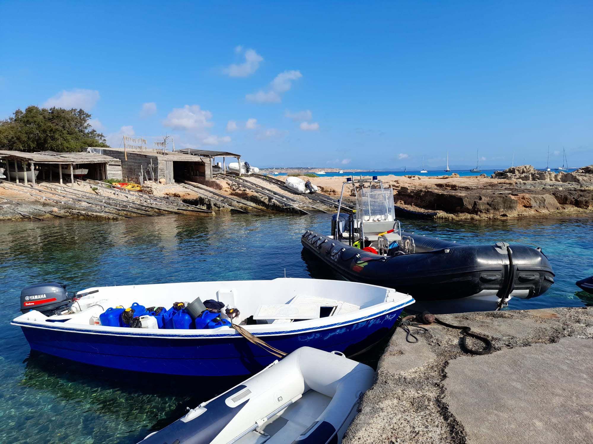 Llegan 28 migrantes en dos pateras a Formentera en menos de 24 horas