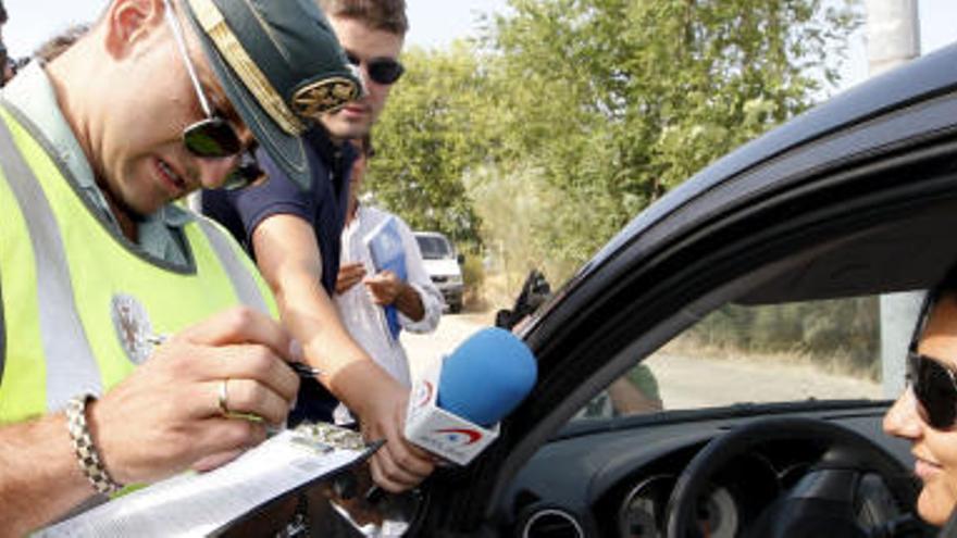 Cuadruplica la tasa de alcohol y provoca un accidente en Fuerteventura