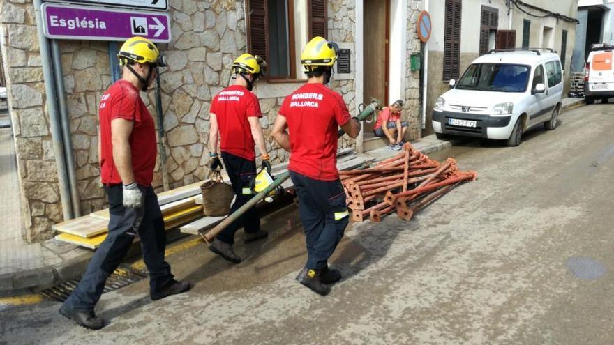 Sant Llorenç comienza su reconstrucción