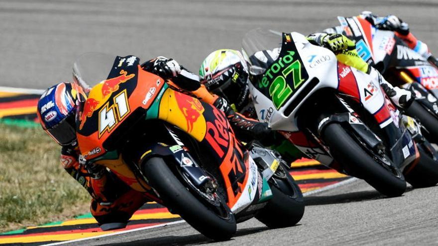 Triste final en la carrera alemana de Moto2