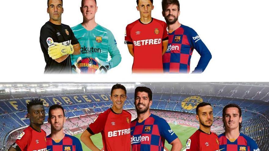 Los duelos del Barça-Mallorca