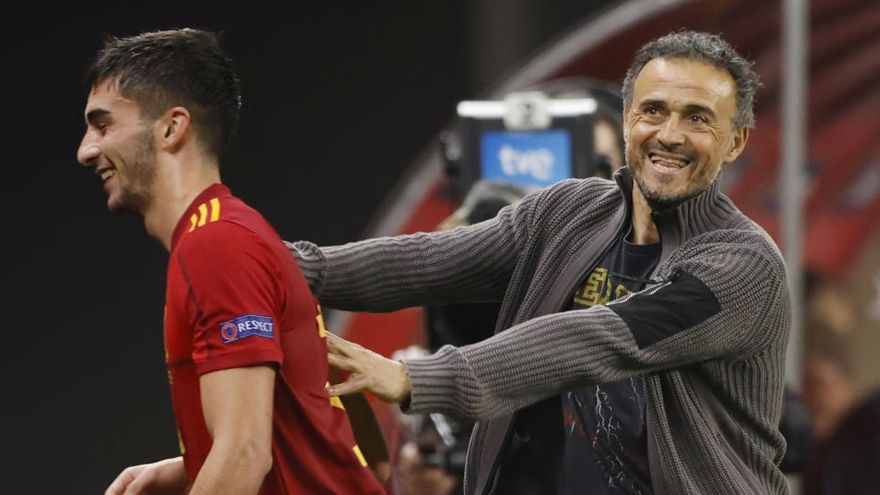"Luis Enrique: ""Dije que era optimista, no era una pose"""