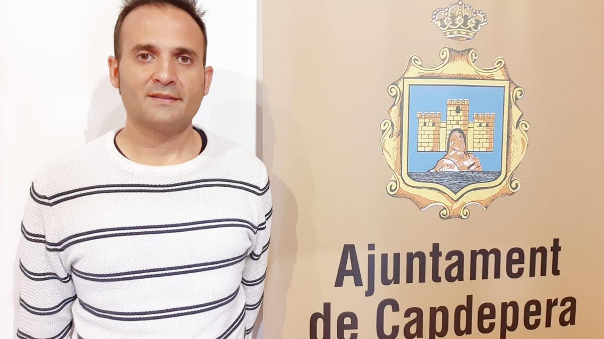 Javier García, regidor de Serveis Socials de l'Ajuntament de Capdepera.