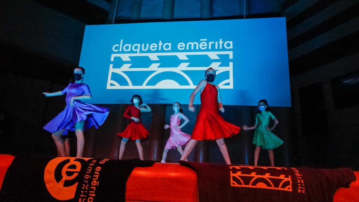 Un momento de la gala final del festival Claqueta Emérita.