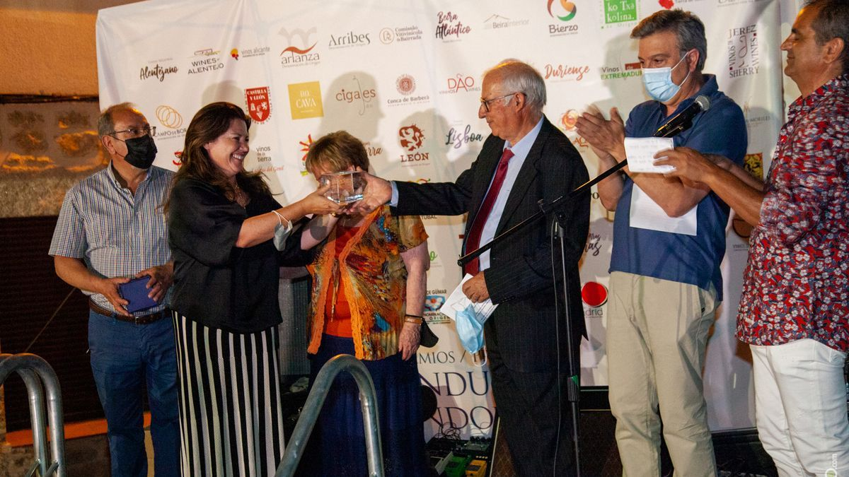"""Entrega del premio """"Terroir de la Frontera""""."""