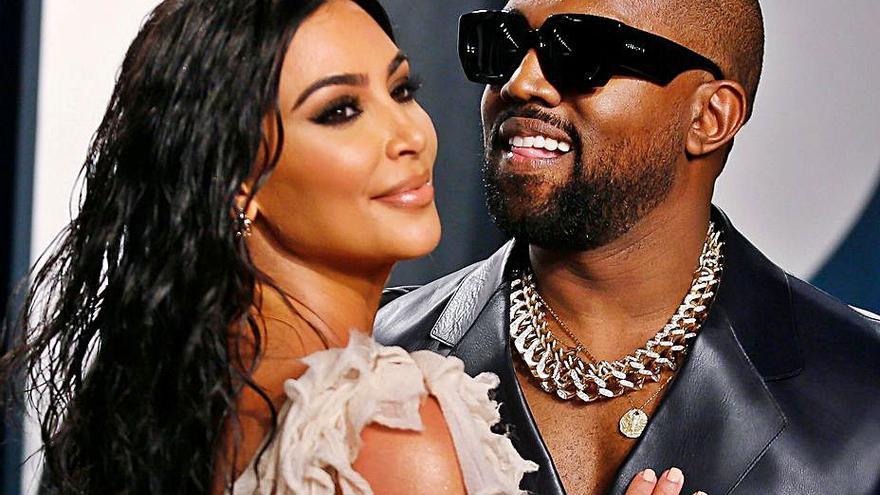 Kim Kardashian y Kanye West, al borde del divorcio