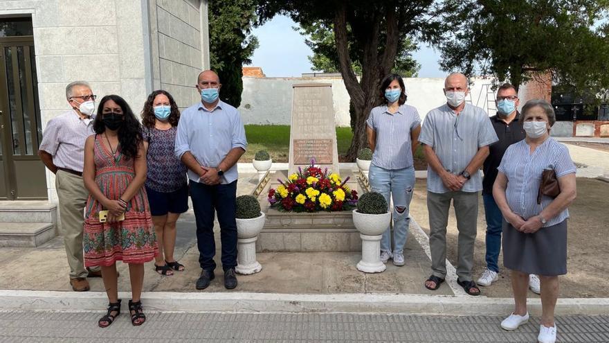 Massamagrell homenajea a las víctimas de la Guerra Civil y la dictadura