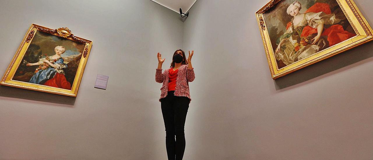 """Una visita guiada de LA NUEVA ESPAÑA a la exposición """"Gusto y tradición"""".   Miki López"""
