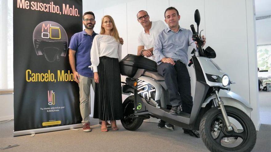 El empresa de motos compartidas MOLO deja de funcionar en València