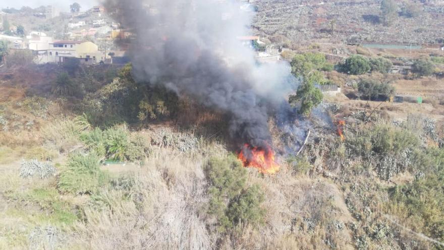 Conato de incendio en Valsequillo