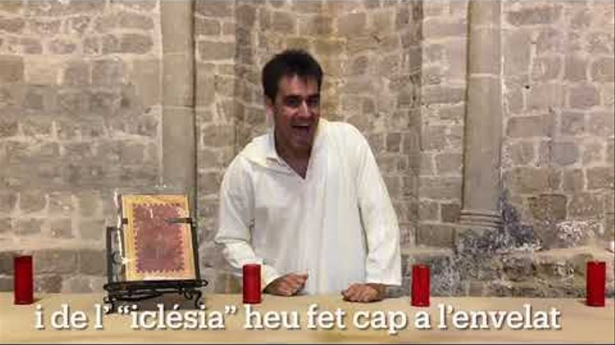 'Bisbe, Bisbe, Bisbe Novell sou un fiera', la cançó viral dedicada a Novell