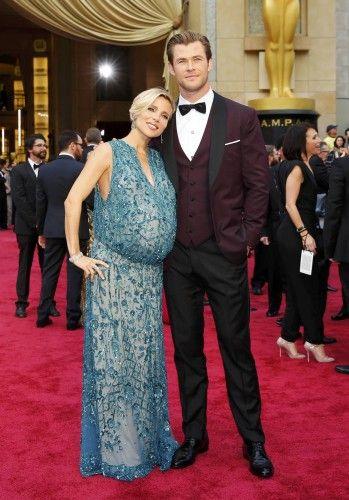 La actriz Elsa Pataky y su marido Chris Hemsworth.
