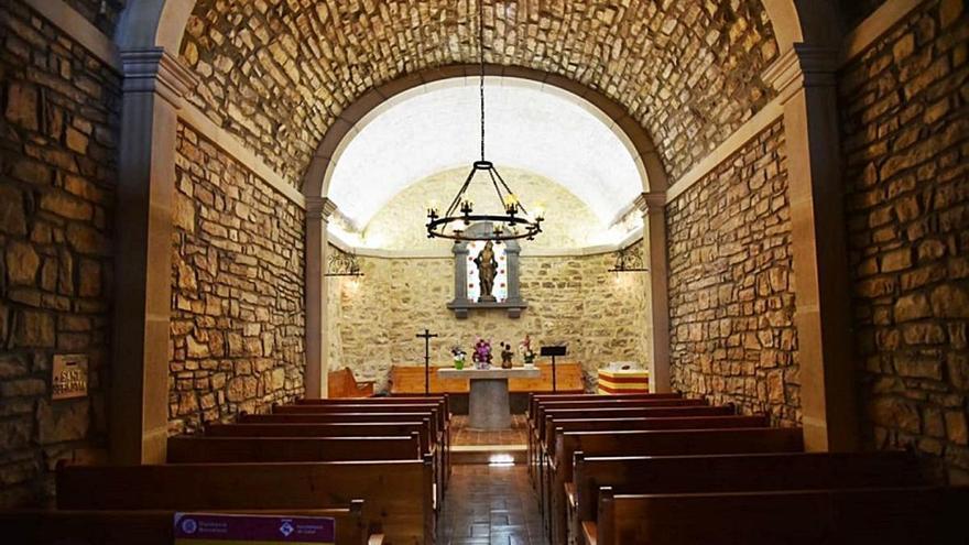 Calaf completa  la consolidació i millora de l'ermita de Sant Sebastià