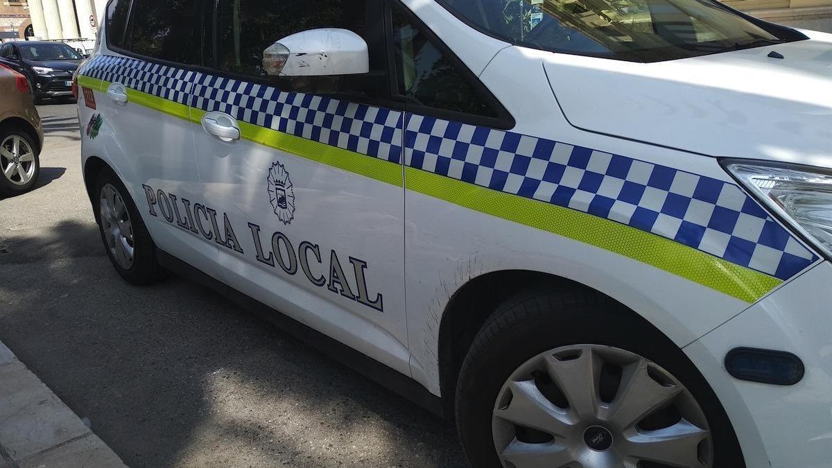 Coche patrulla de la Policía Local.