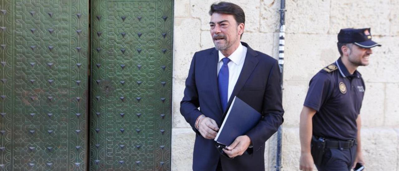 El alcalde, Luis Barcala, en una imagen reciente.