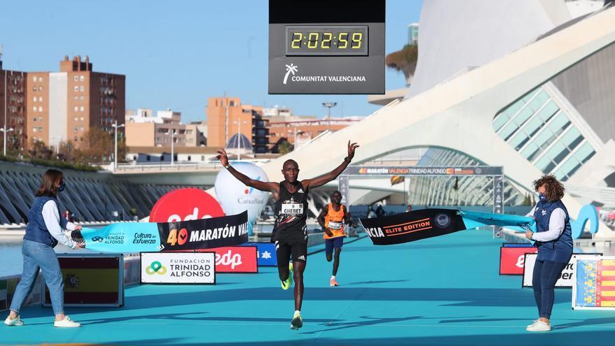 València, el tercer maratón más rápido de toda la historia