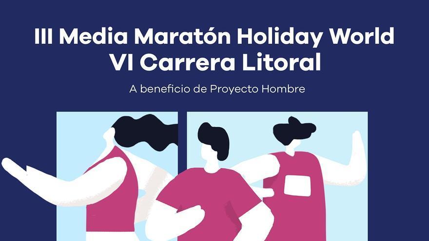 La VI Carrera Litoral y la III Media Maratón de Benalmádena serán a beneficio de Proyecto Hombre