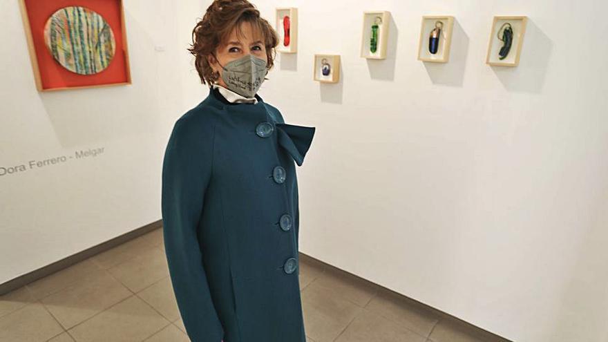 Dora Ferrero-Melgar expone en la galería Amaga su último trabajo
