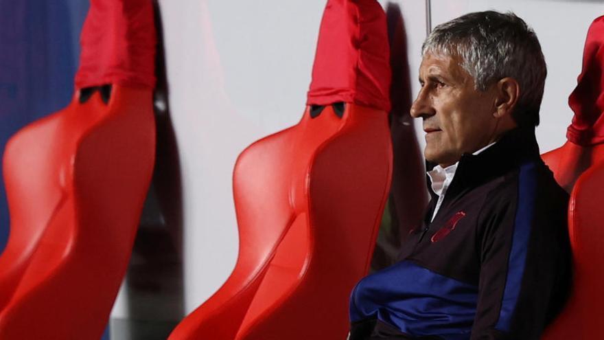 Setién, destituido como entrenador del Barcelona