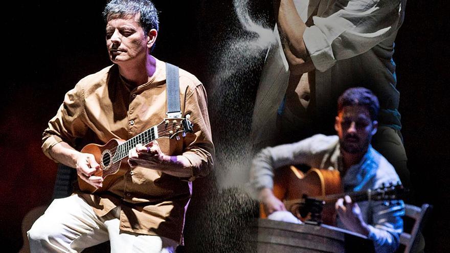 Timple, claqué y guitarra  se unen esta semana en  el concierto 'A pies y manos'