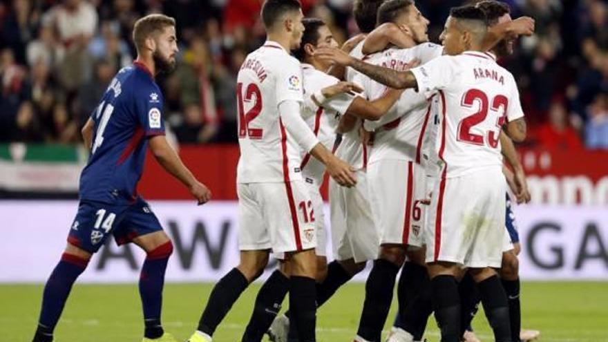 Sarabia dona el triomf al Sevilla