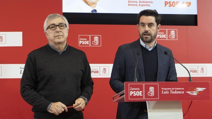 El PSOE defiende las renovables como nicho de empleo en Zamora