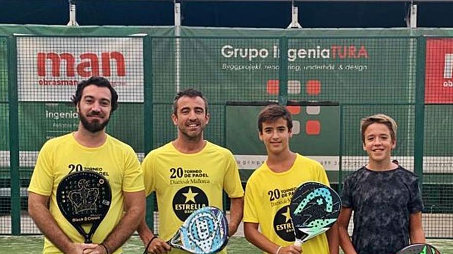El Torneo Diario de Mallorca cierra una intensa sexta jornada en el Pins Pádel