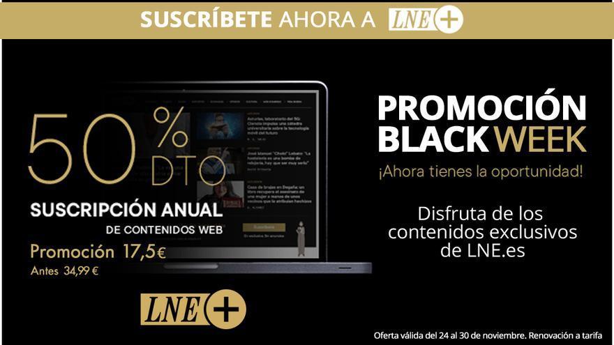 Black Week de LNE: consigue un 50% de descuento en tu suscripción web