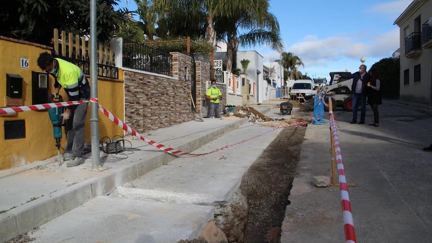Alhaurín el Grande mejora el abastecimiento de agua en Villafranco del Guadalhorce