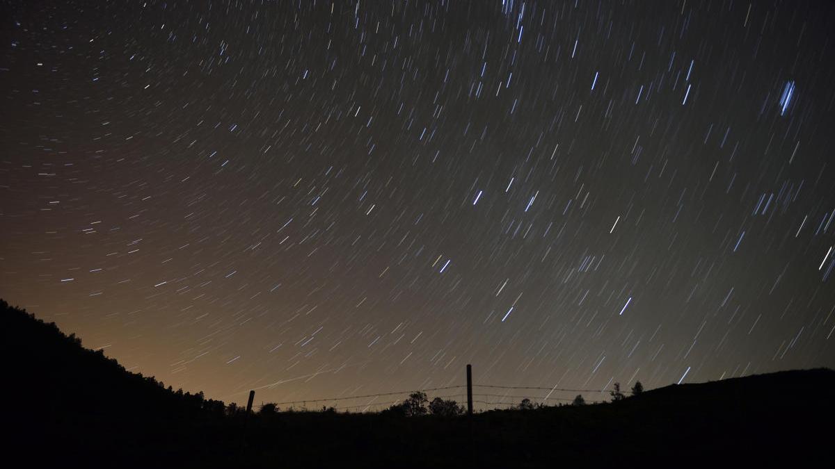 Estrellas fugaces vistas otro verano.
