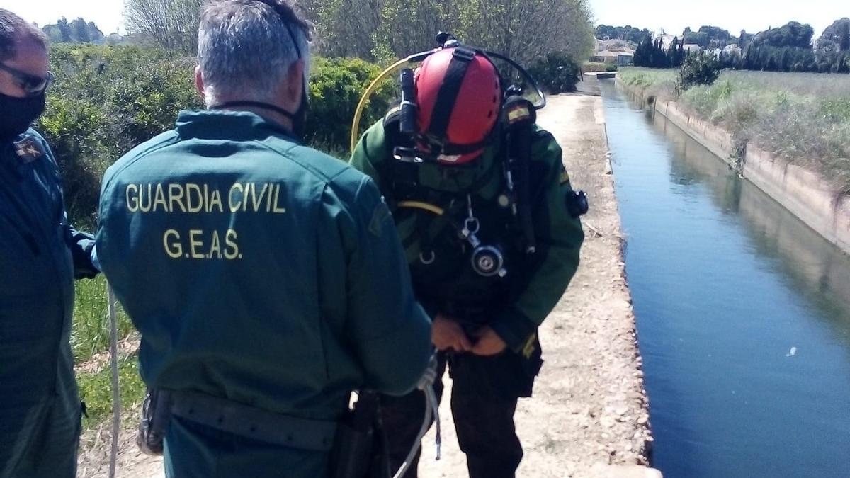 Agentes de la Guardia Civil han hallado el cuerpo en Massarrojos.