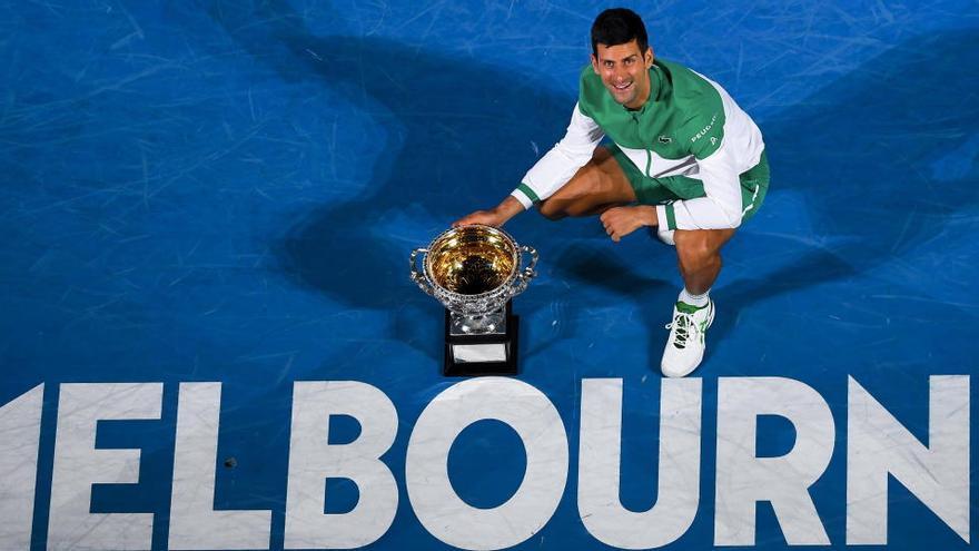 """Djokovic: """"Cada año quiero más a esta pista"""""""