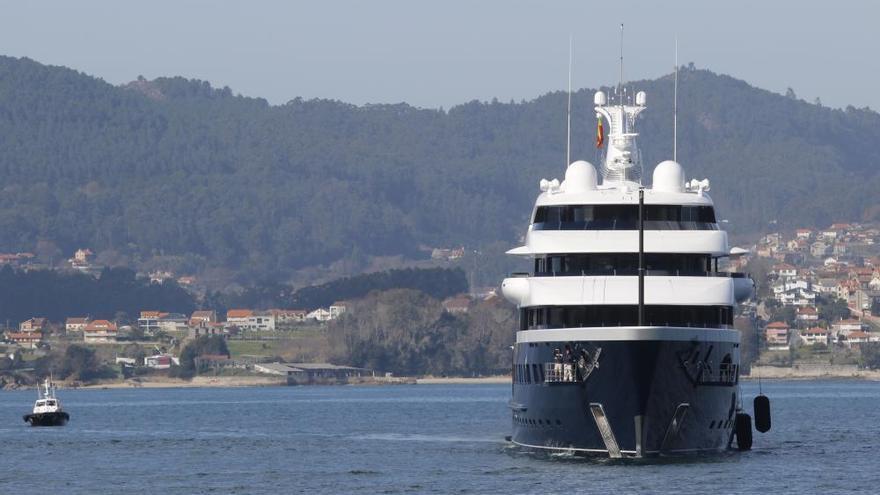 El lujo levanta amarras en Vigo