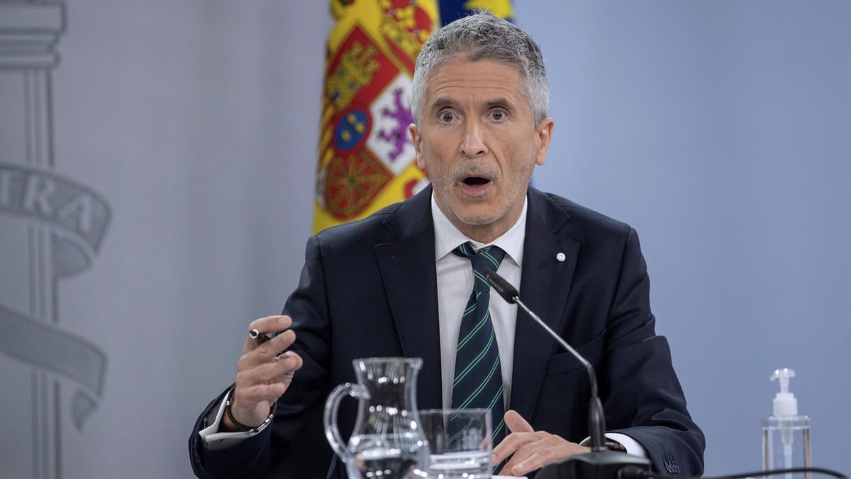 El ministre d'Interior, Fernando Grande-Marlaska.