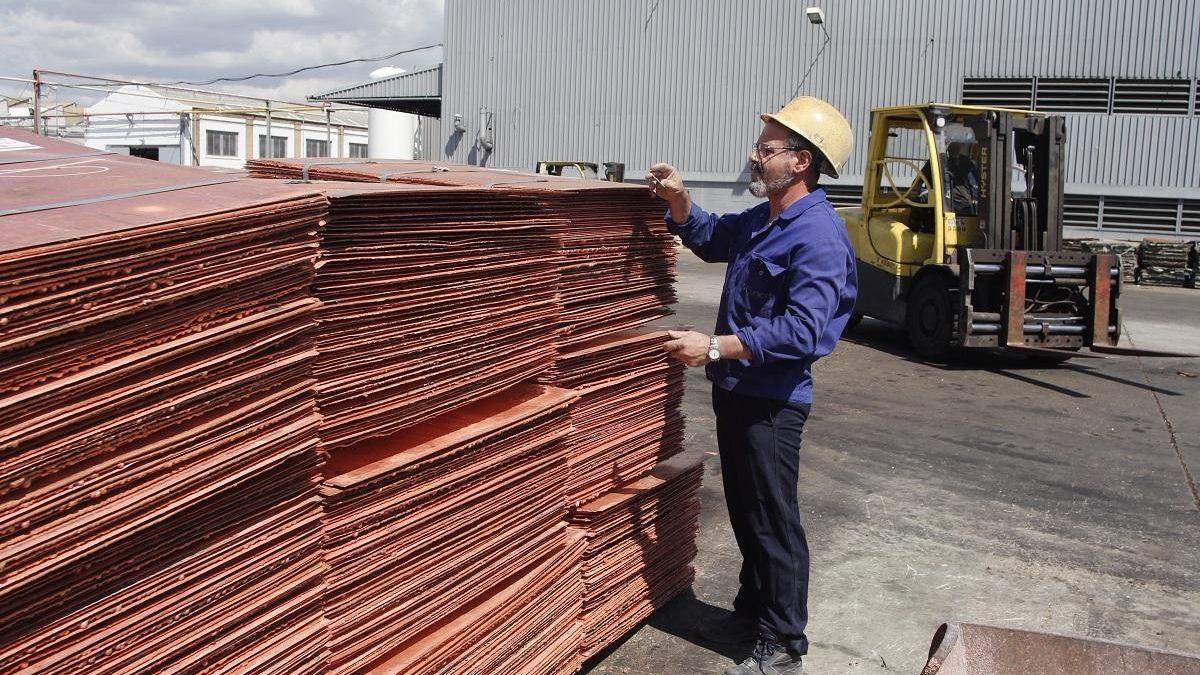 Empresa de cobre.