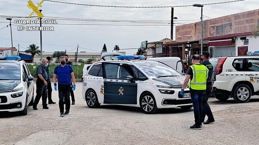 Cae en Beniel una banda dedicada al robo en vehículos