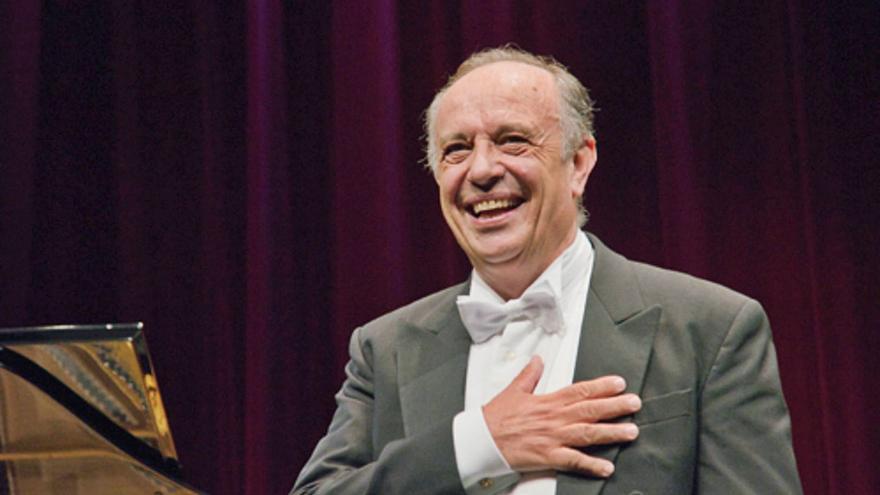 El barítono italiano Leo Nucci preside el Concurso de Canto Alfredo Kraus