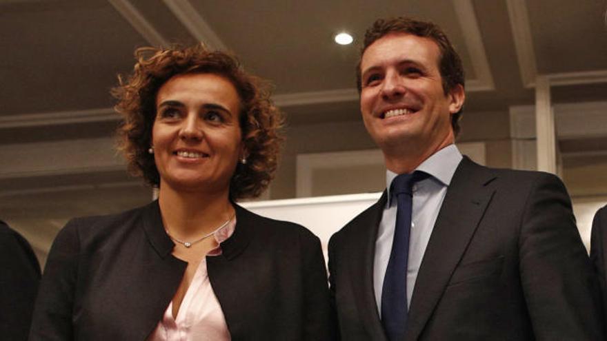 Casado pone a Dolors Montserrat como cabeza de lista para las europeas