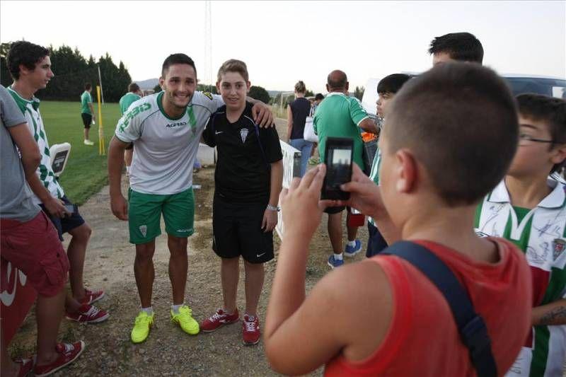 El Córdoba vuelve a los entrenamientos