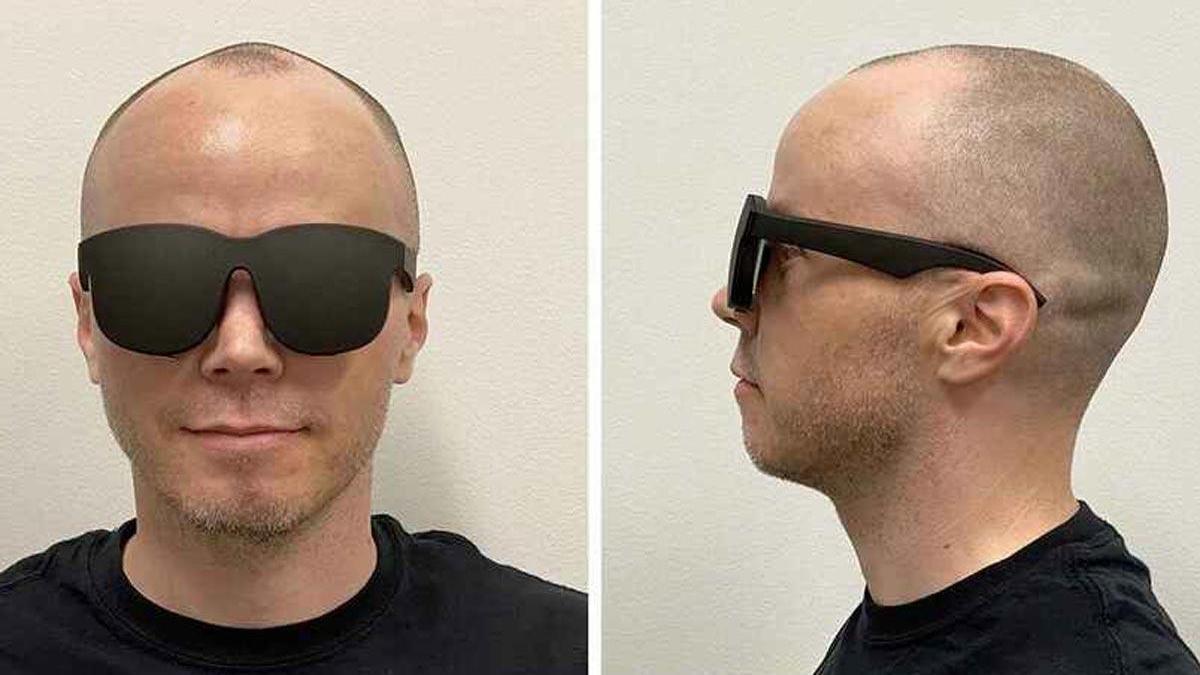 El prototipo de gafas de Facebook.