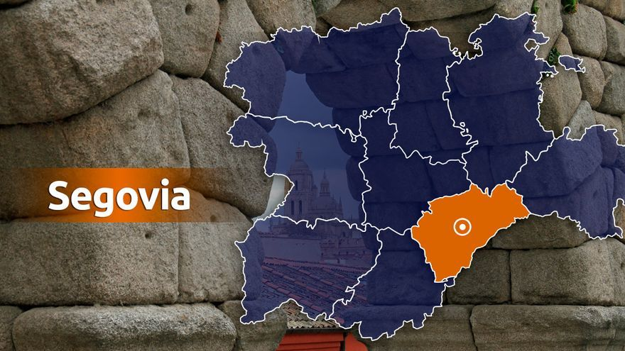 Tres heridos en el choque entre dos vehículos en Navas de San Antonio (Segovia)