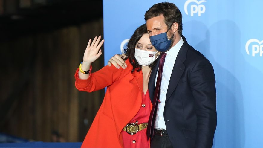Madrid se rinde al ayusismo e Iglesias dimite